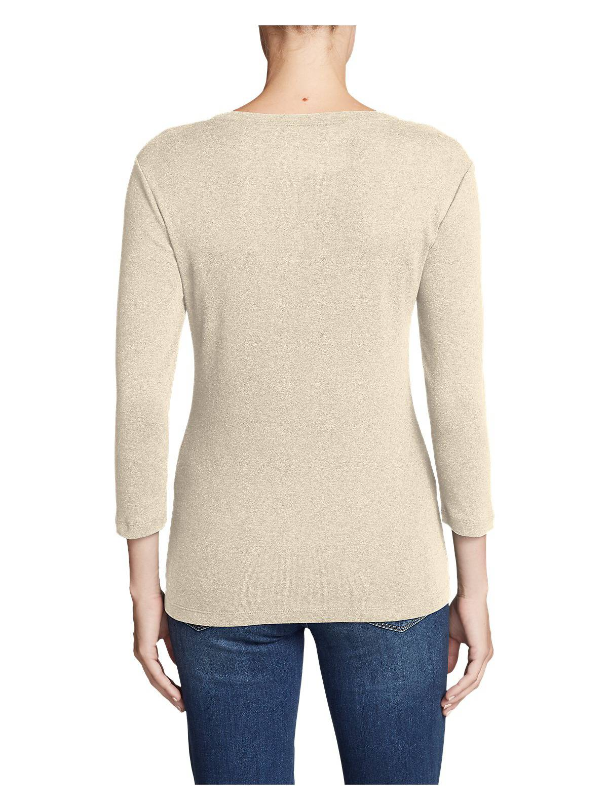 Eddie-Bauer-Women-039-s-Favorite-3-4-Sleeve-Scoop-Neck-T-Shirt thumbnail 11