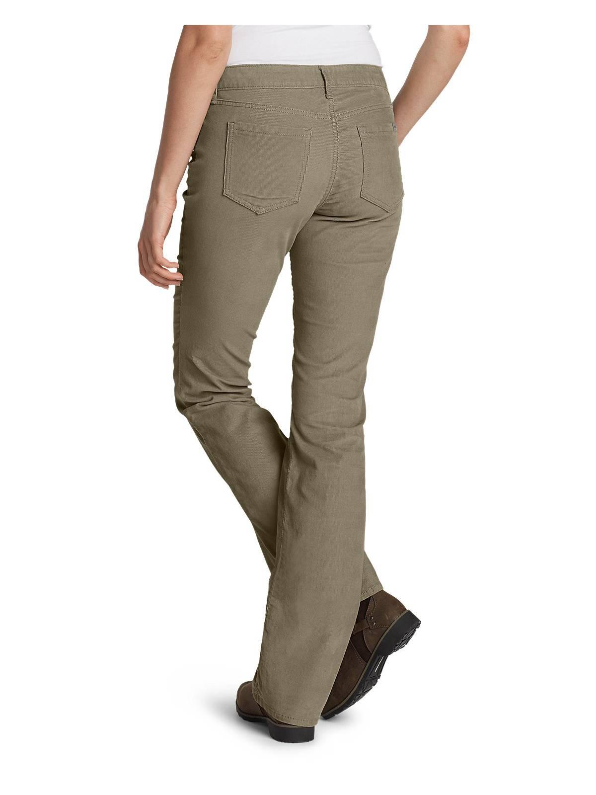 c0f5a0ca Eddie Bauer Women's Curvy Bootcut Cord Pants | eBay