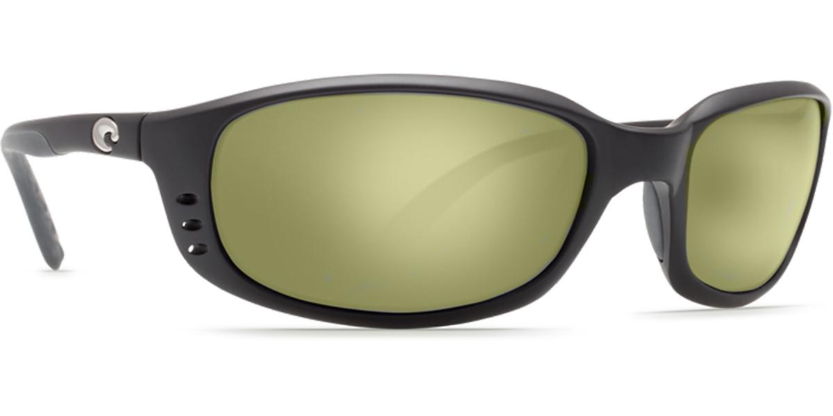49aaf734b4 Details about Costa Del Mar 580g BRINE Blackout Sunglasses