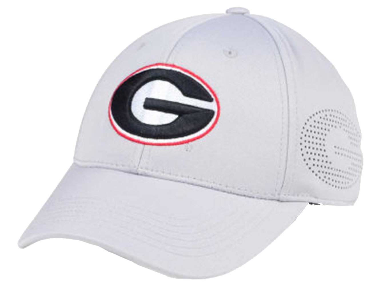 Details about Top Of The World Georgia Bulldogs Rails One Fit Light Grey Hat 2f4c94fccf1
