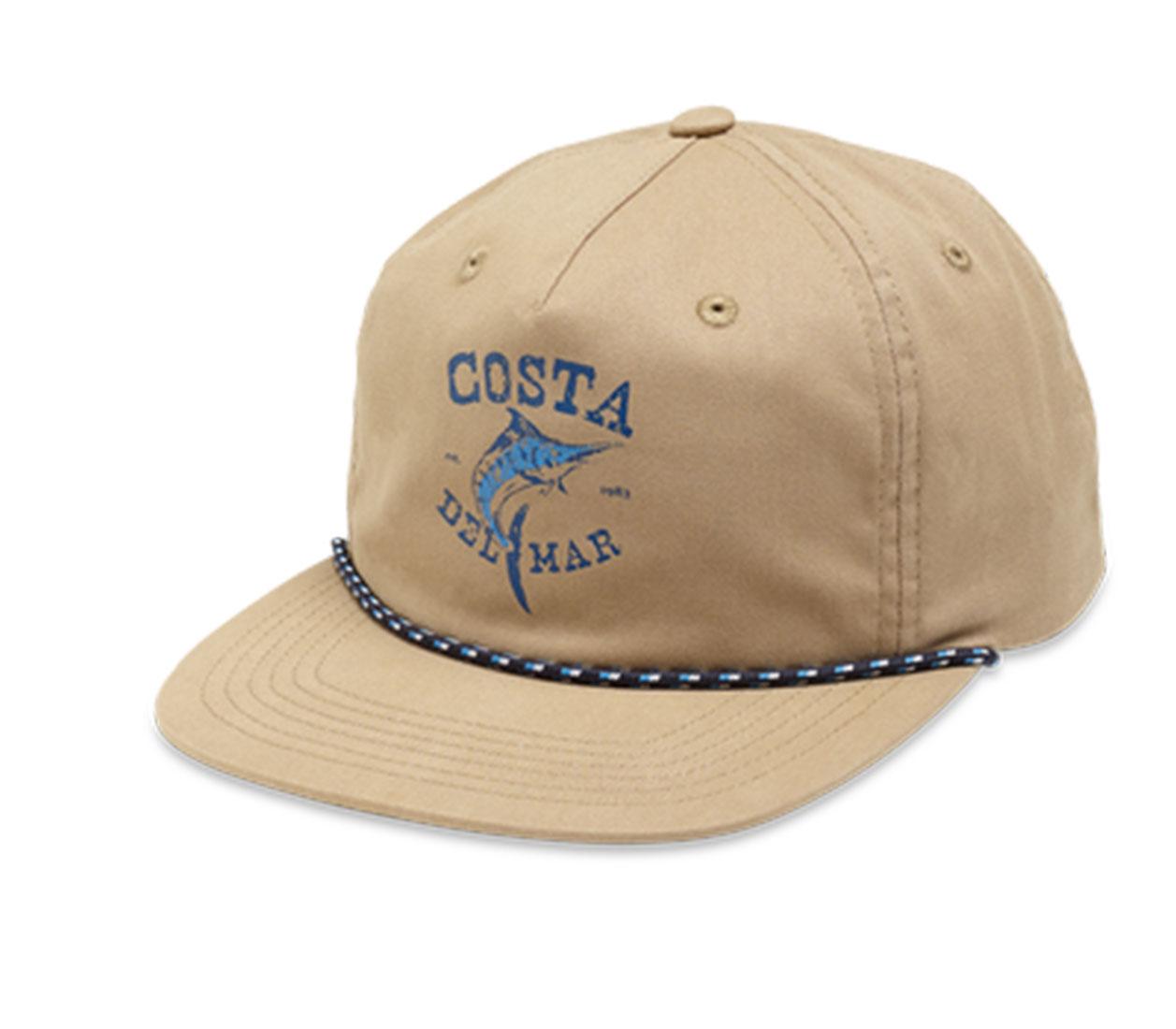 a9ef7c5b87a54 Costa Del Mar Twill Captains Hat