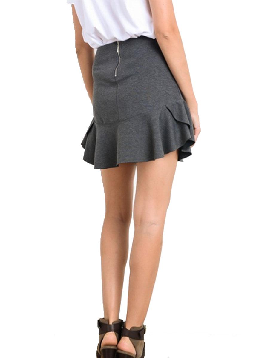 Zipper Flounce And Womens Back Skirt Wishlist qvIBzw6c