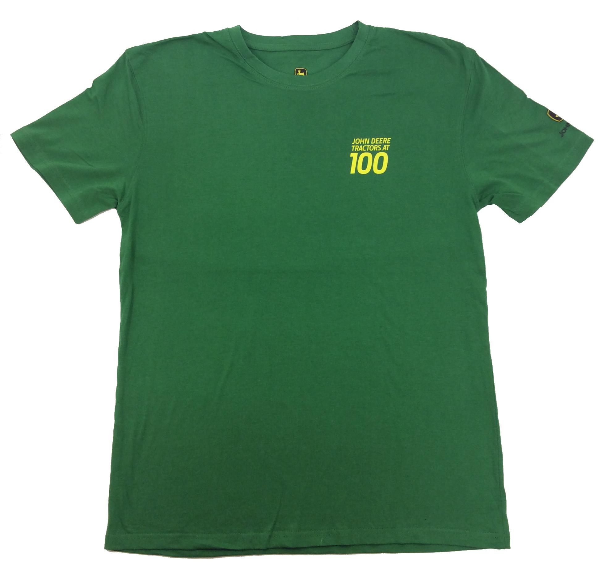 62ee55eb765 John Deere Limited Edition 100th Anniversary The Legend Runs On T-shirt -  Trenz Shirt Company