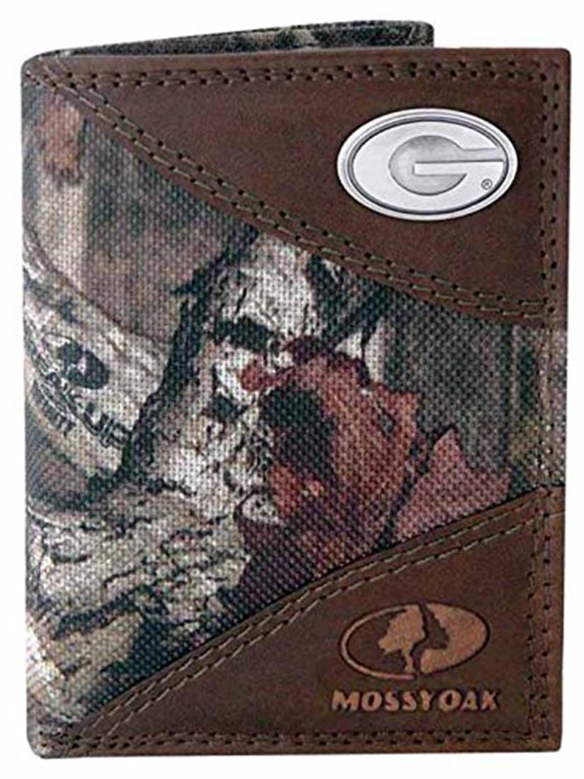 NCAA Georgia Bulldogs Leather Concho Key Fob Zeppelin Products Inc