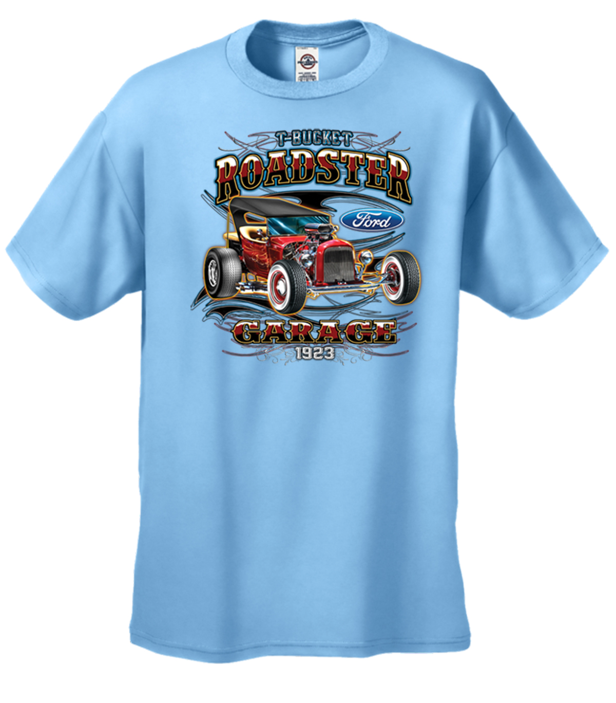 ford 1923 t bucket roadster garage t shirt ebay. Black Bedroom Furniture Sets. Home Design Ideas