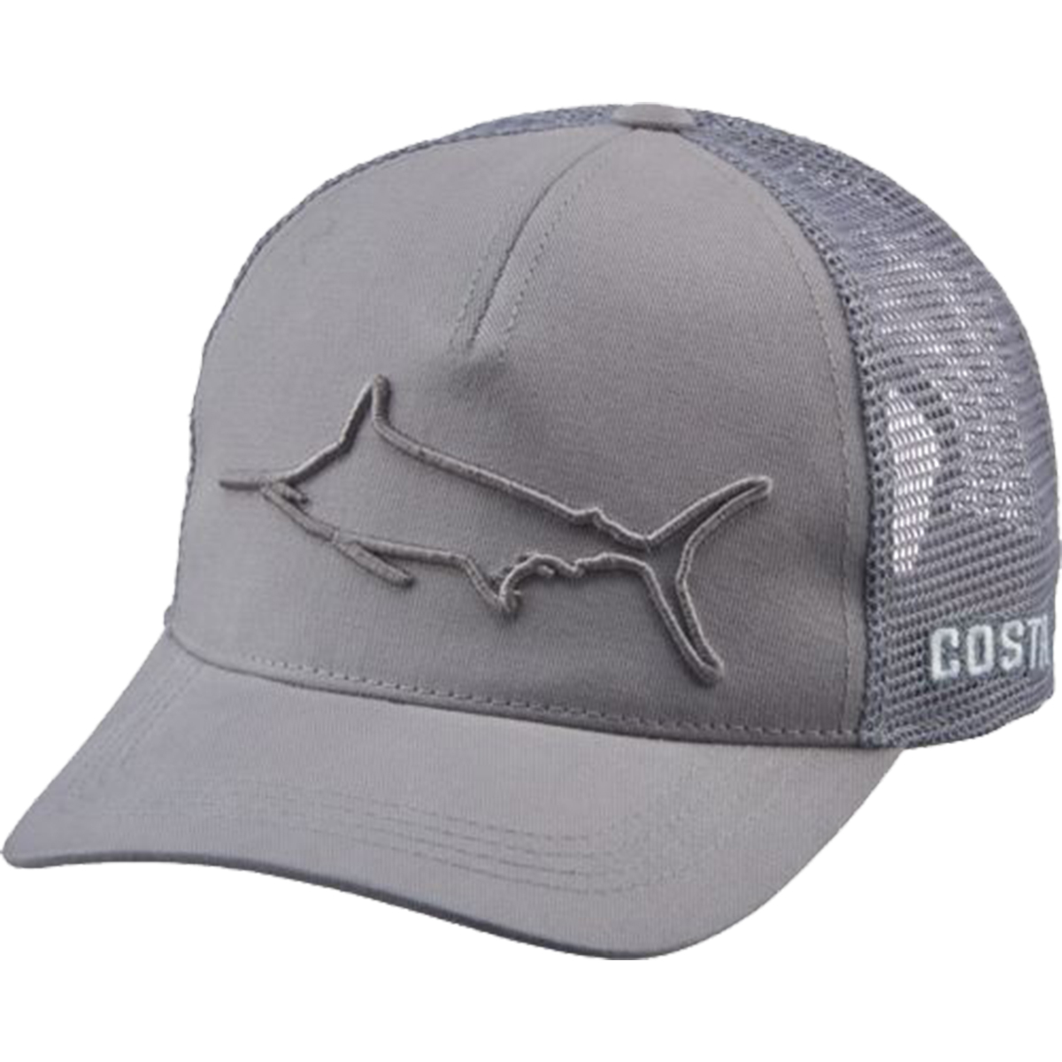 d8642015f19 Costa Del Mar Marlin Shield Trucker Hat - Blue- Fishing Cap -Free Shipping