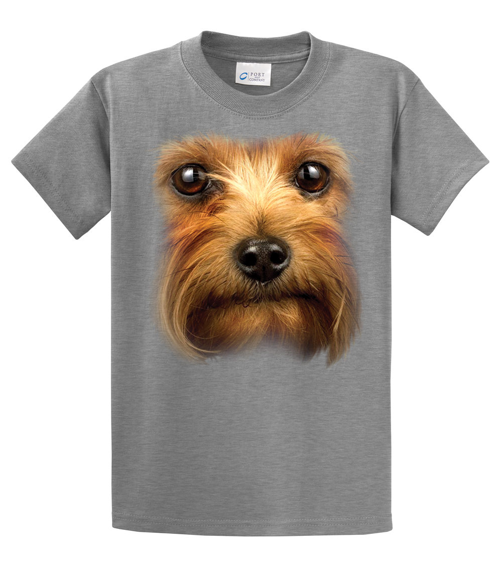 Yorkshire Terrier T Shirt Yorkie Headshot | eBay