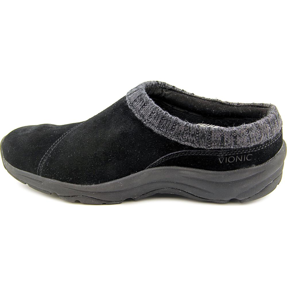 Vionic-Womens-Action-Arbor-Suede-Leather-Casual-Comfort-Clogs thumbnail 6