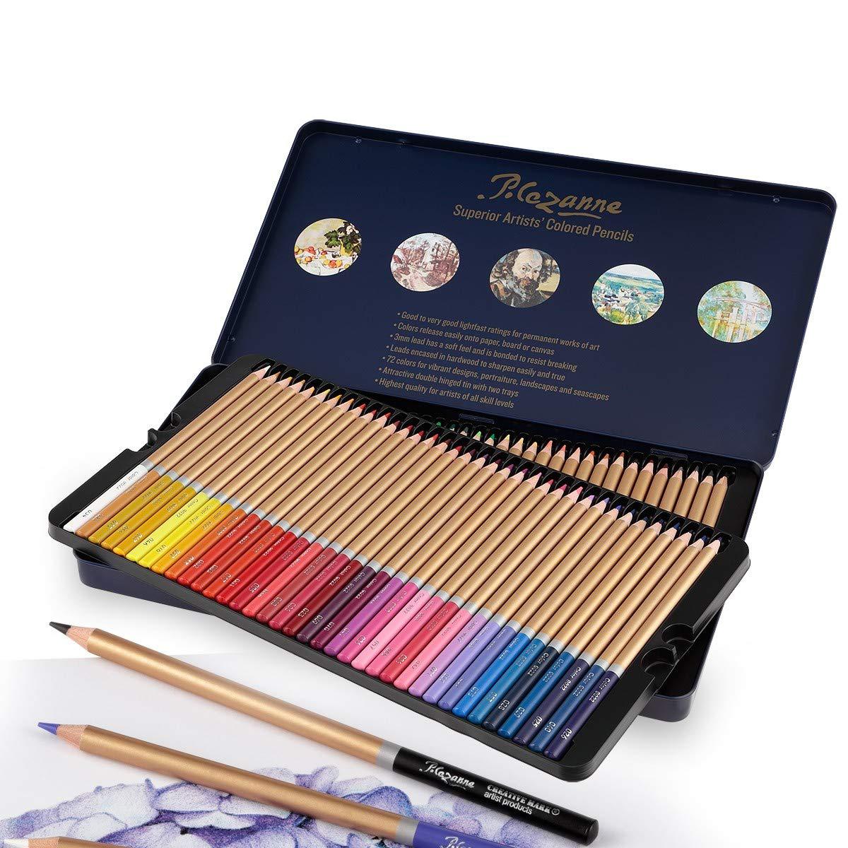 12-Color Colored pencils & Drawing Coloring pencil set,Advanced ...