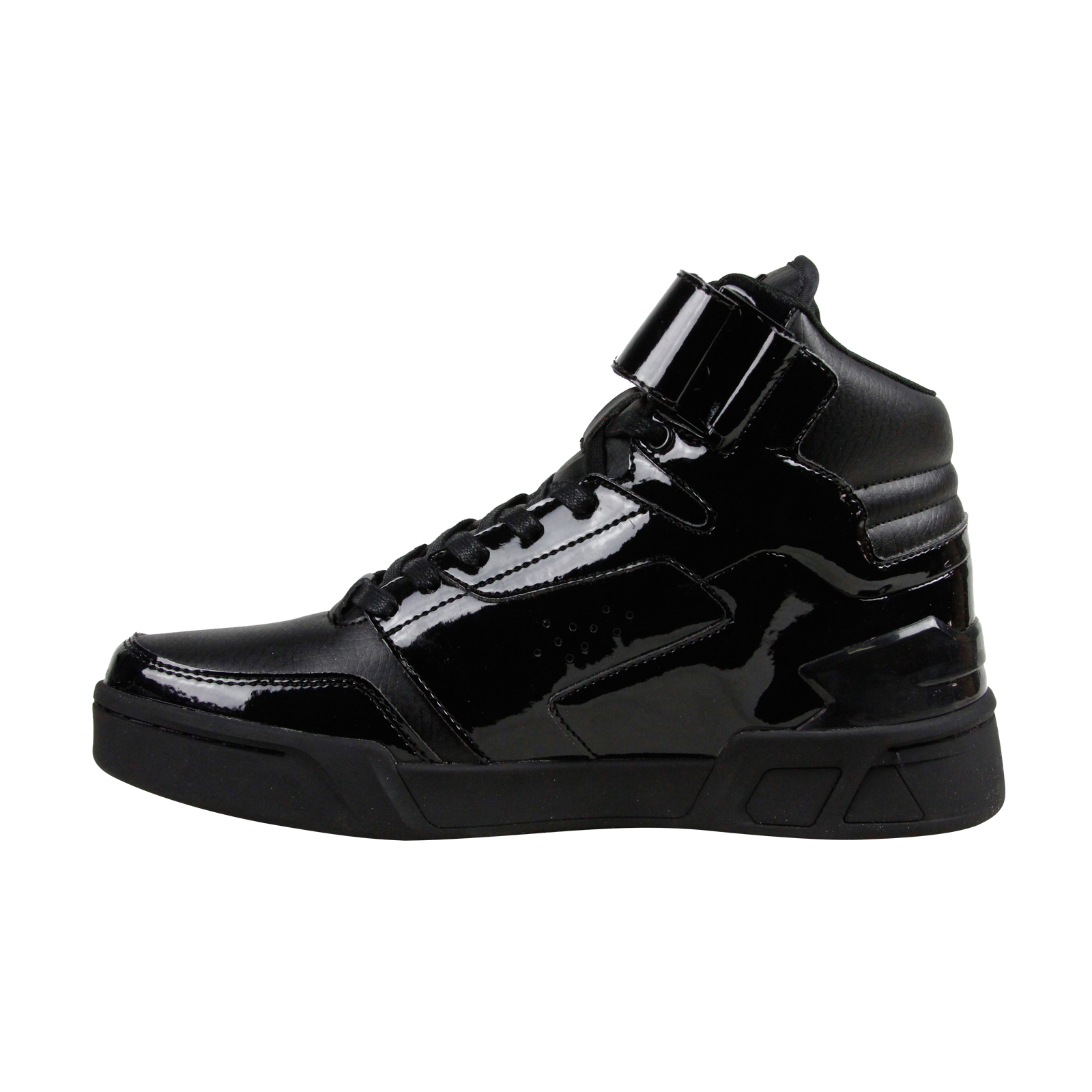 Mens Patent Leather Athletic Shoes