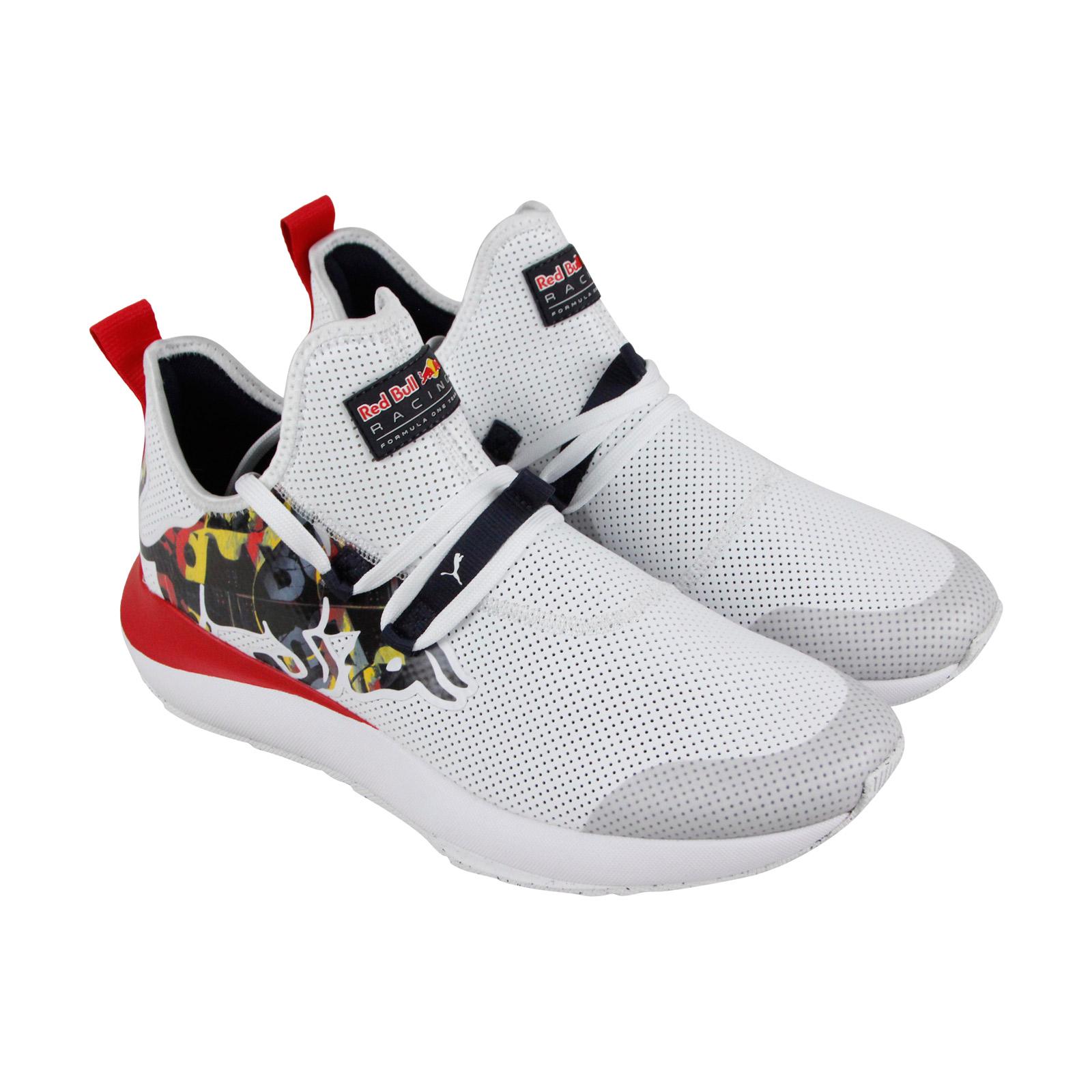 Puma Rbr Uomo Evo Cat Ii Bulls Uomo Rbr White Textile  Mesh Athletic Training Shoes 7a8bf0
