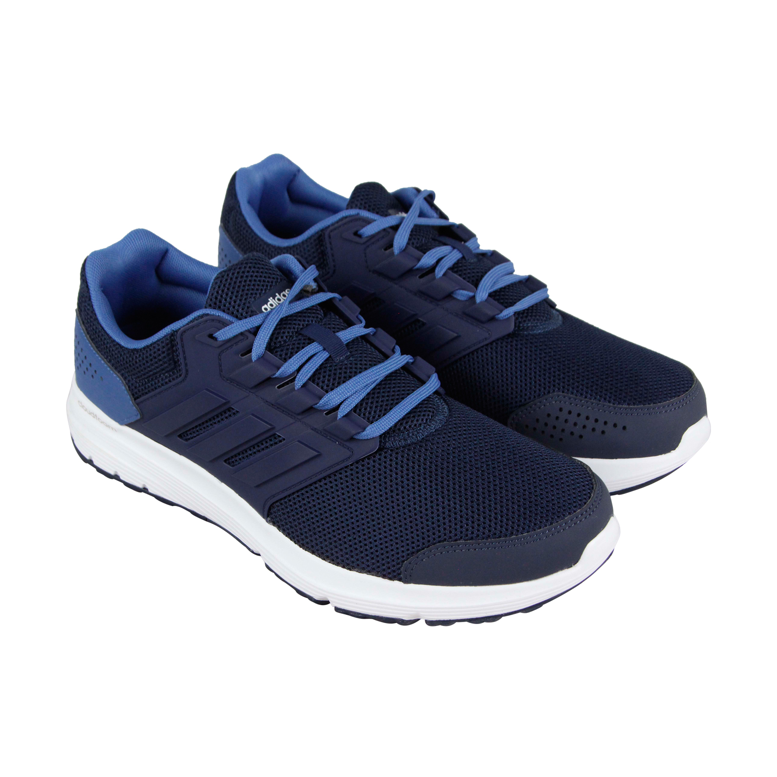 a54c517c34a Adidas Adidas Galaxy 4 M Mens Blue Mesh Athletic Lace Up Running ...