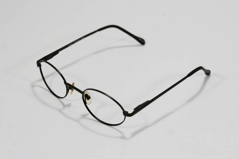 6dbefc102b Fossil Unisex DREW Black Metal Eyeglass Frames Designer Style Rx Eyewear