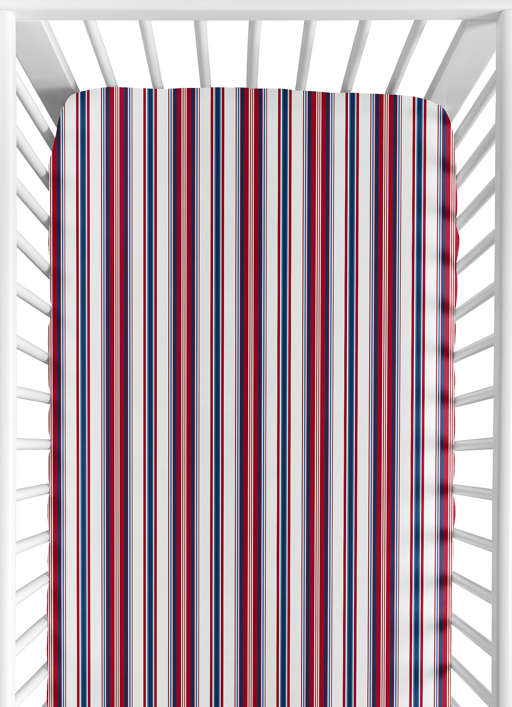Red striped sheets