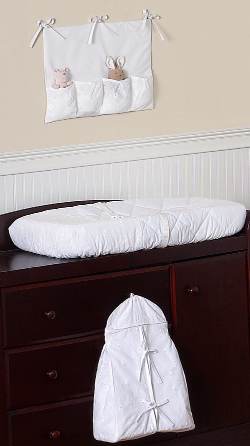 Cheap Baby Bedroom Furniture Sets: LUXURY UNIQUE DESIGNER WHITE EYELET CHEAP DISCOUNT 9p BABY