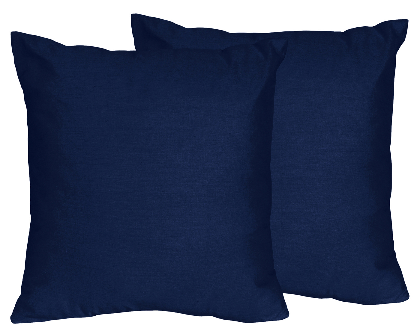 Navy Blue Decorative Bed Pillows: Set Of 2 Navy Blue Decorative Accent Throw Pillow Sweet