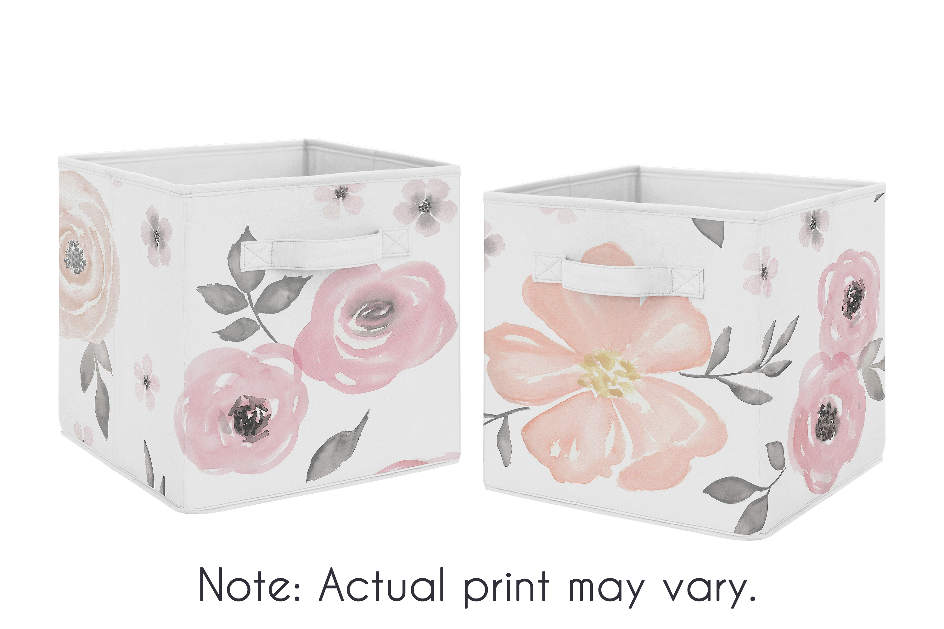 Sweet Jojo Designs Fabric Storage Bins Offer A Stylish Yet Functional  Storage Solution For Toys, Clothes, Household Clutter And More.