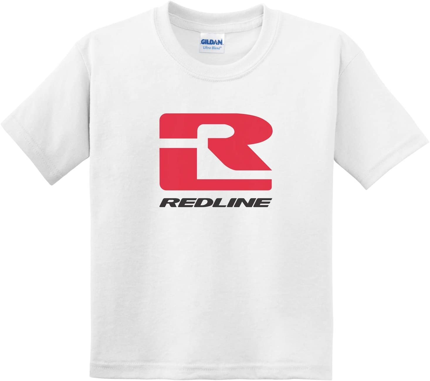 Redline Logo Short Sleeve T Shirt Bmx Bike Youth Large White 765868576950 Ebay