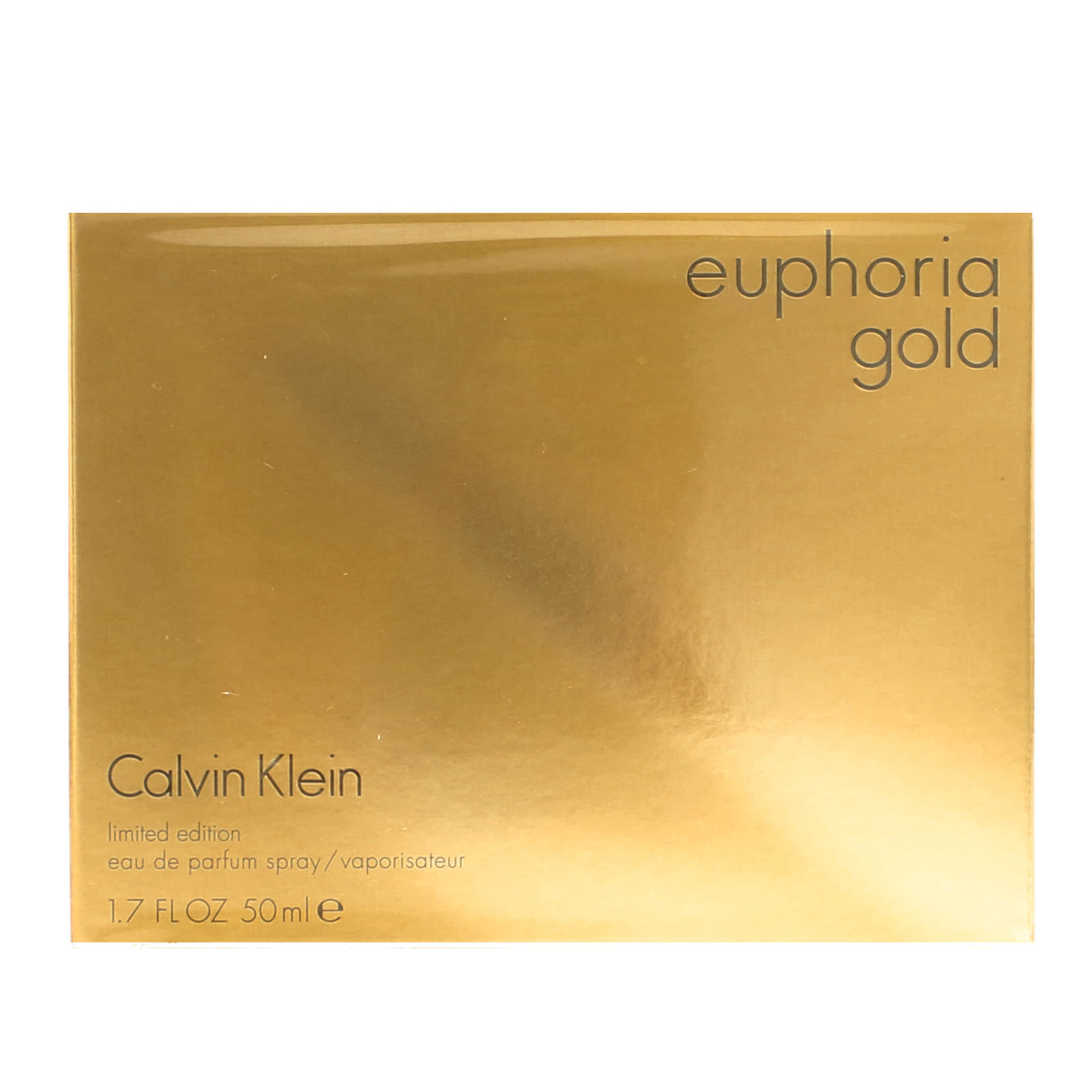 428fa7f89 Details about EUPHORIA GOLD by Calvin Klein 1.7 oz. edp Perfume for Women    New In Box