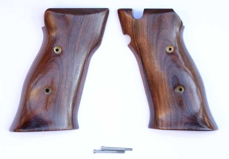 Hogue Smith & Wesson S&W Model 41 Pau Ferro Smooth Wood Grips 41310