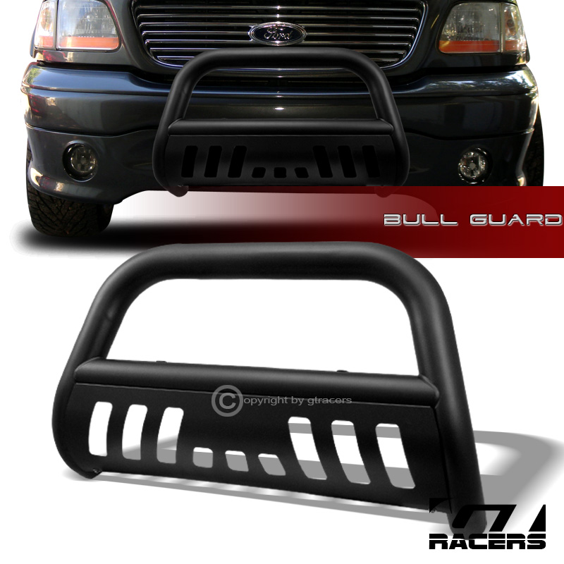 matte black for 1997 2004 f150 99 expedition bull bar. Black Bedroom Furniture Sets. Home Design Ideas