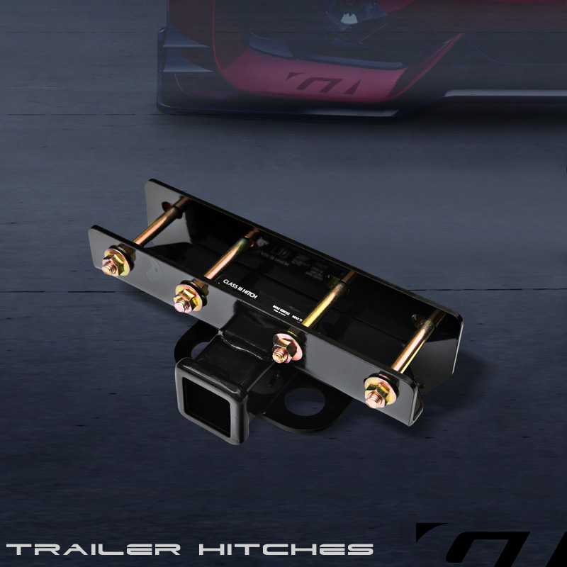 "Class 3 Trailer Hitch Receiver Rear Bumper Towing 2"" For"