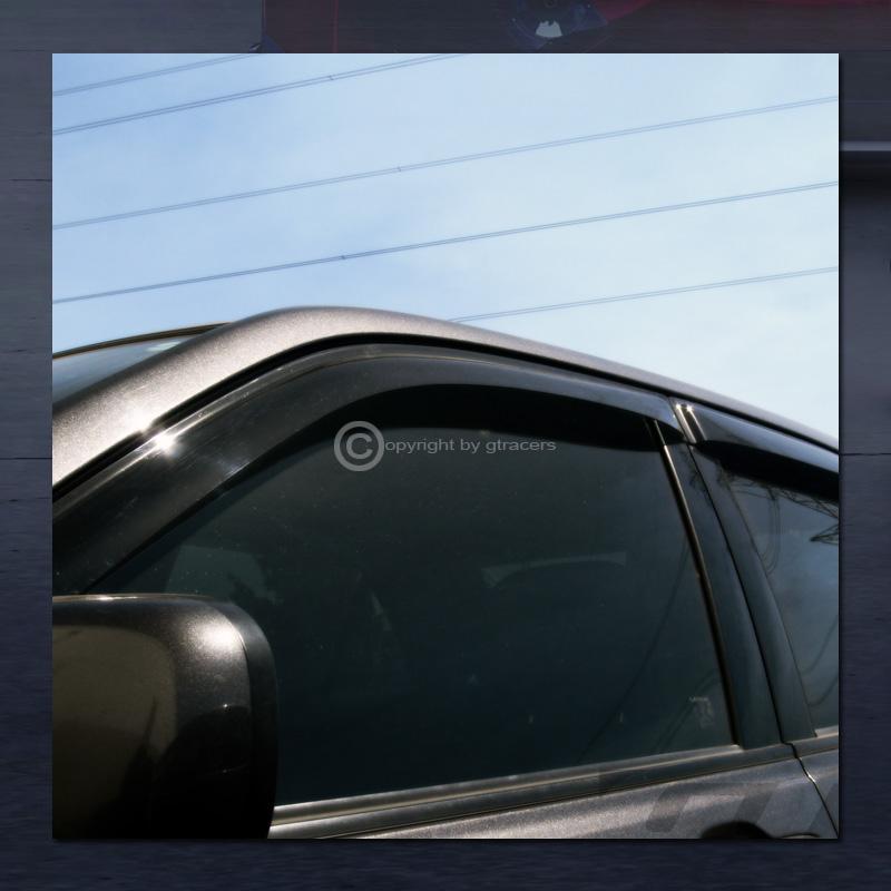 For 1996-2012 Express Savana Sun//Rain Guard Shade Deflectors Window Visors 2Pcs