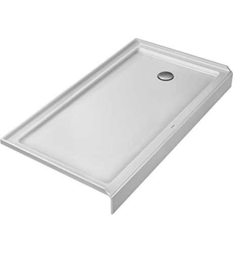 """Duravit  Architec 60"""" x 32"""" Shower Tray with Panel, Rectangl"""