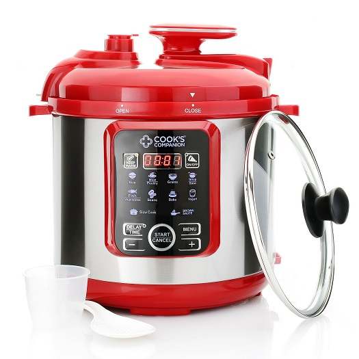 Best Digital Pressure Cooker ~ Cook s companion qt in digital pressure cooker w