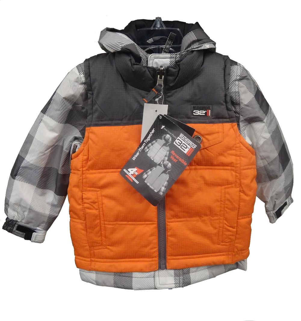 Weatherproof 32 Degrees Boys' Infant/Toddler Winter Coat ...