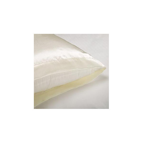 Donna Karan Std Queen Pillowcases Ivory 600 Threadcount Ultra Fine Brand New