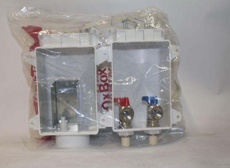 "Sioux Chief 696-G2303CR 3//4/"" MHT 2 Valve Washing Machine Outlet Box"