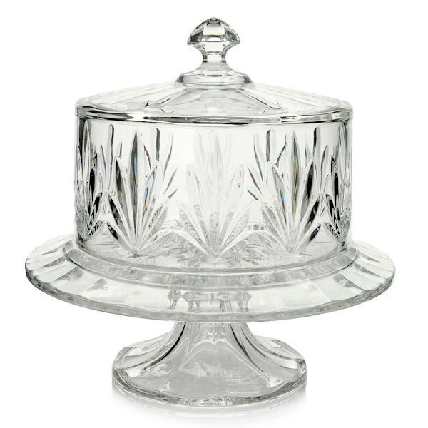 Marquis by Waterford Casey 4-in-1 Crystal Cake Dome Plate \u0026 Stand  sc 1 st  eBay & Marquis by Waterford Casey 4-in-1 Crystal Cake Dome Plate \u0026 Stand ...