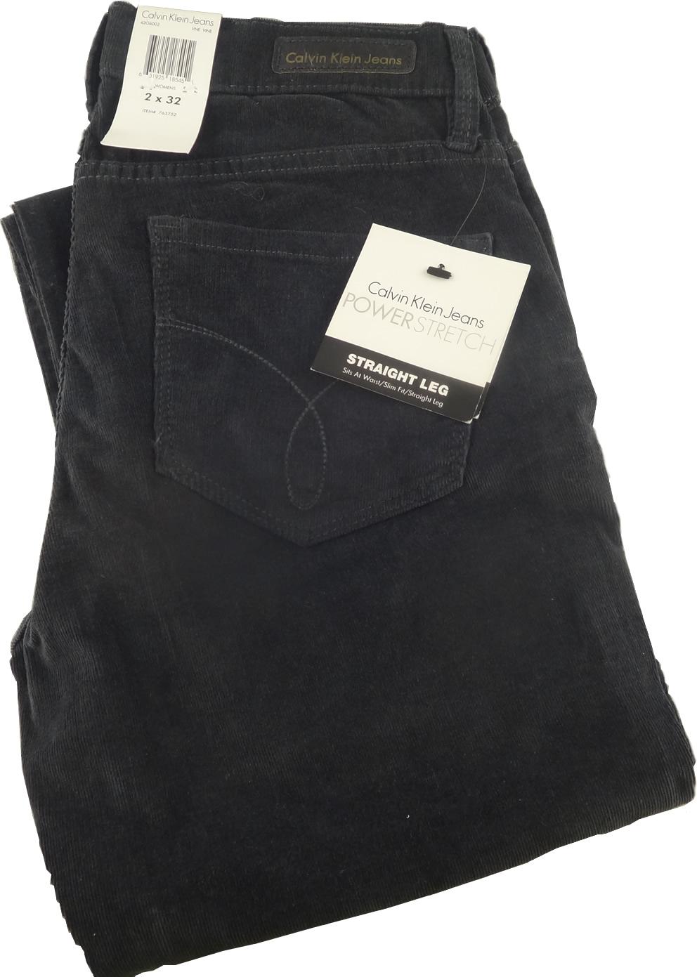 Calvin Klein Jeans Power Stretch Straight Leg Women S