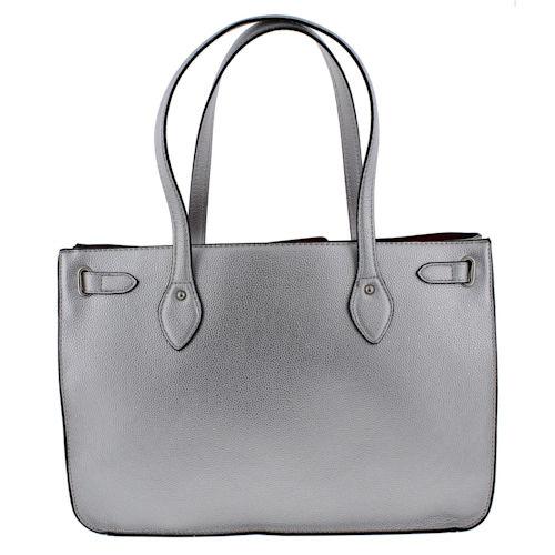 495d2067c166 London Fog Handbags Harlow Tote-Silver 653806243296