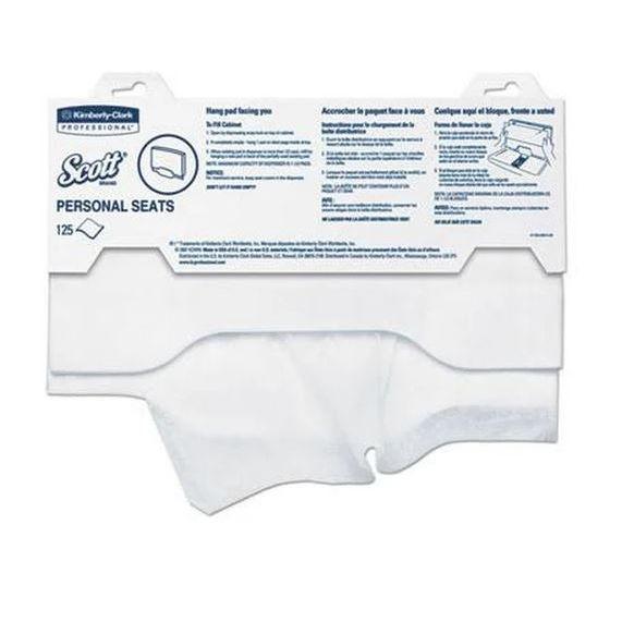 Scott Toilet Seat Covers 15 Quot X 18 Quot 125 Covers Pack 24