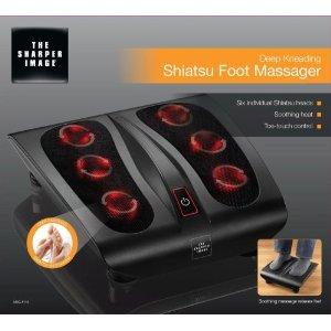 The Sharper Image Deep Kneading Shiatsu Foot Massager MSG F110