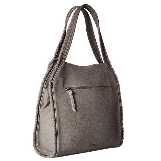 346728d62e Details about Steven by Steve Madden Women's Korey Hobo Shoulder Bag in Grey