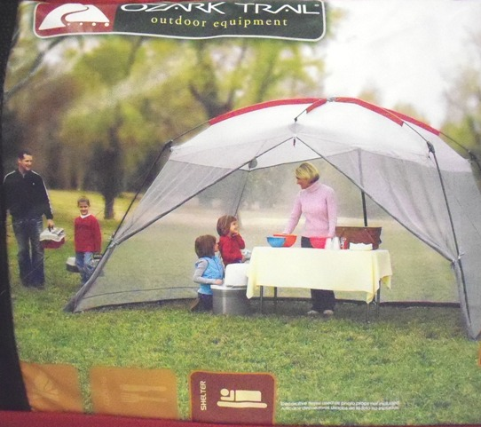Ozark Trail 13ft x 9ft Polyester Dome Screen House New on