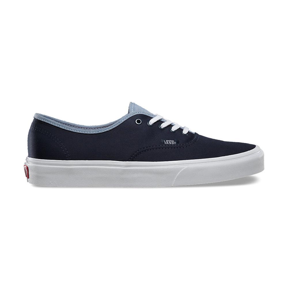 4ebc4e9b24 Vans Unisex Authentic Shoes T C Dress Blue Captains Blue - MetroShoe  Warehouse