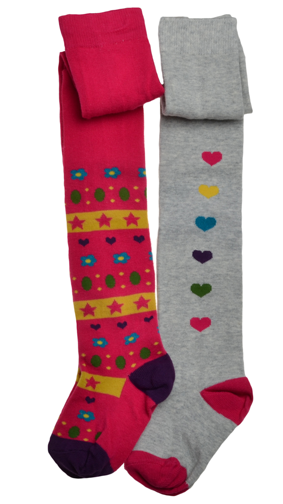 WB Socks 2 Paar Baby Strumpfhosen,wei/ß,18-24 Monate