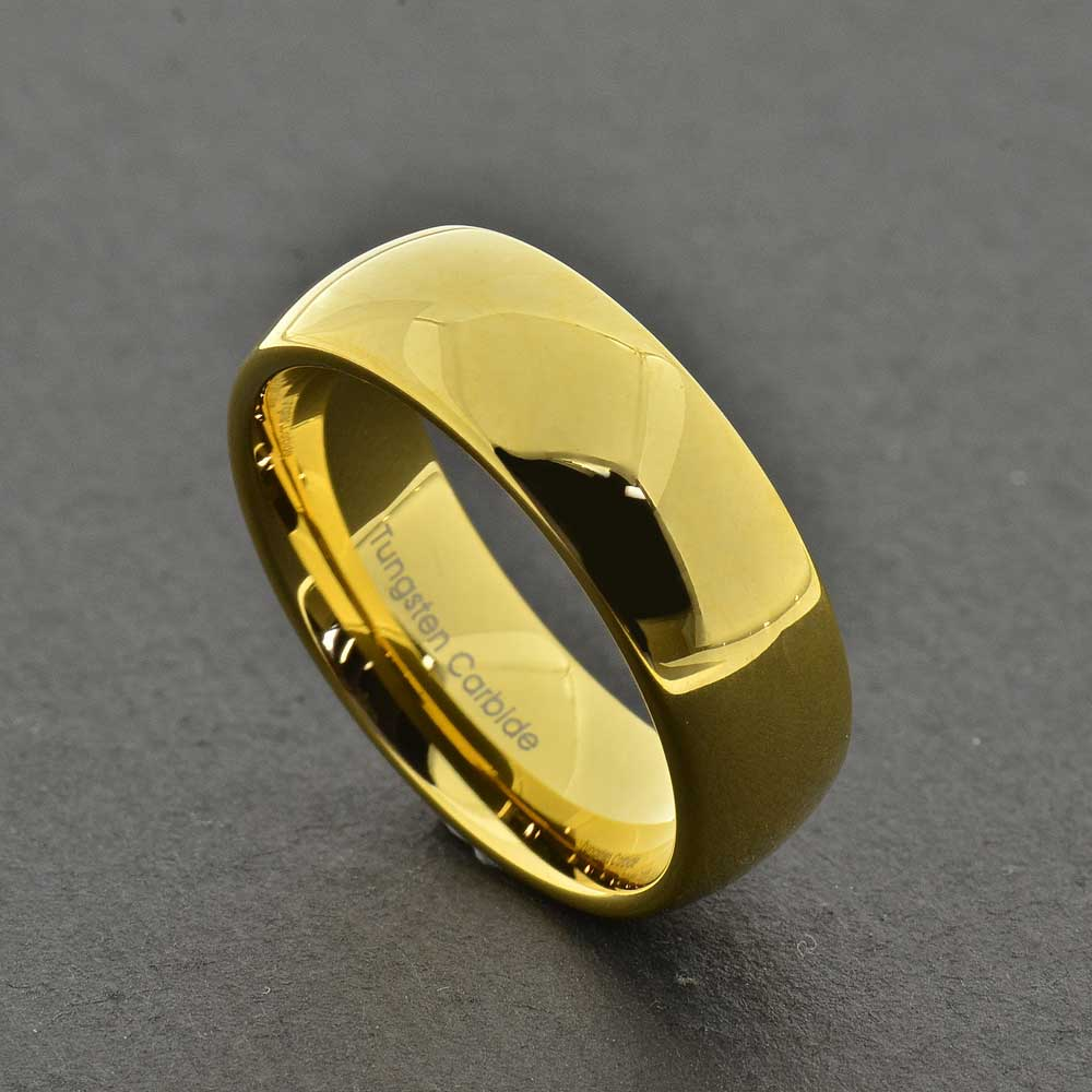 8mm Tungsten Jewelry Men's Engagement Ring Wedding Band
