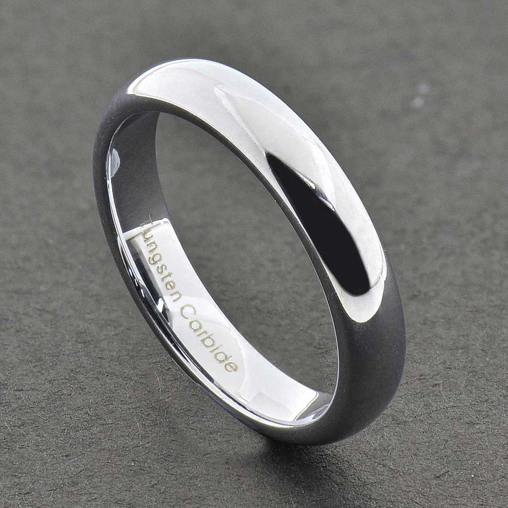 Tungsten Carbide Womens Wedding Bands