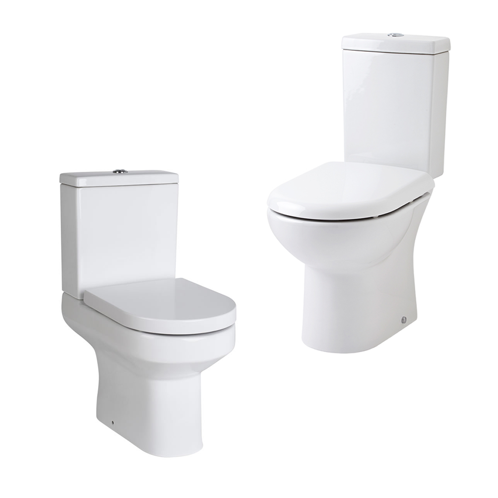 Various Modern White Ceramic Toilet WC Pan Cloakroom