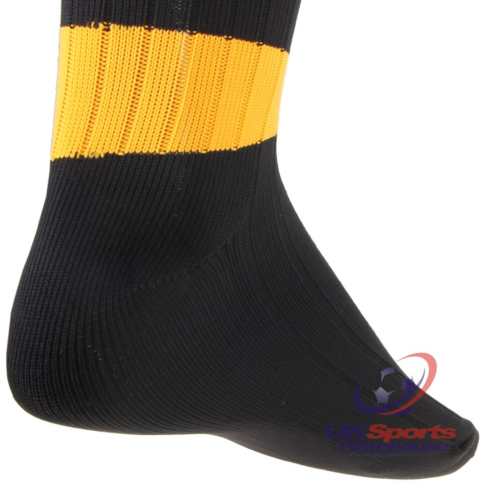 Precision-Training-Contrast-Hoop-Club-Football-Socks-All-Sizes-And-Colours-rr-8 Indexbild 5