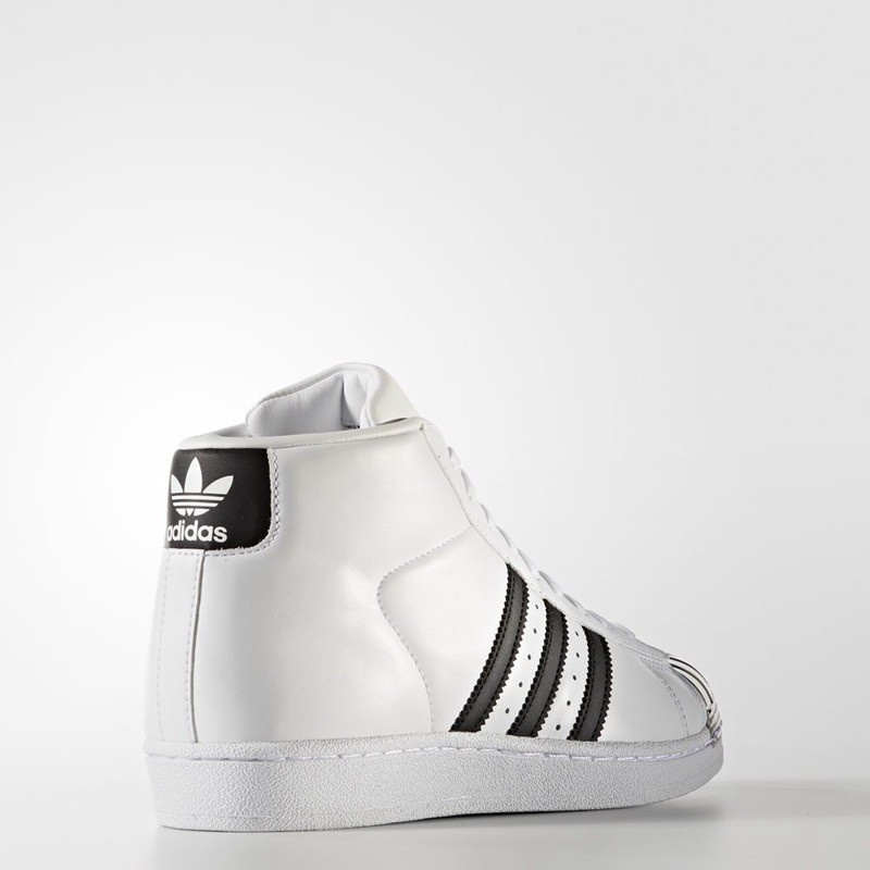 online store bb659 e9555 adidas Originals Promodel Metal Toe Womens Leather Mid Cut T