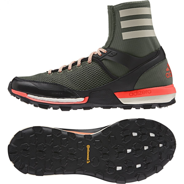 01ab206b047a5 Details about adidas Performance Mens Adizero XT Boost High Sock Trail  Running Shoes rrp£109