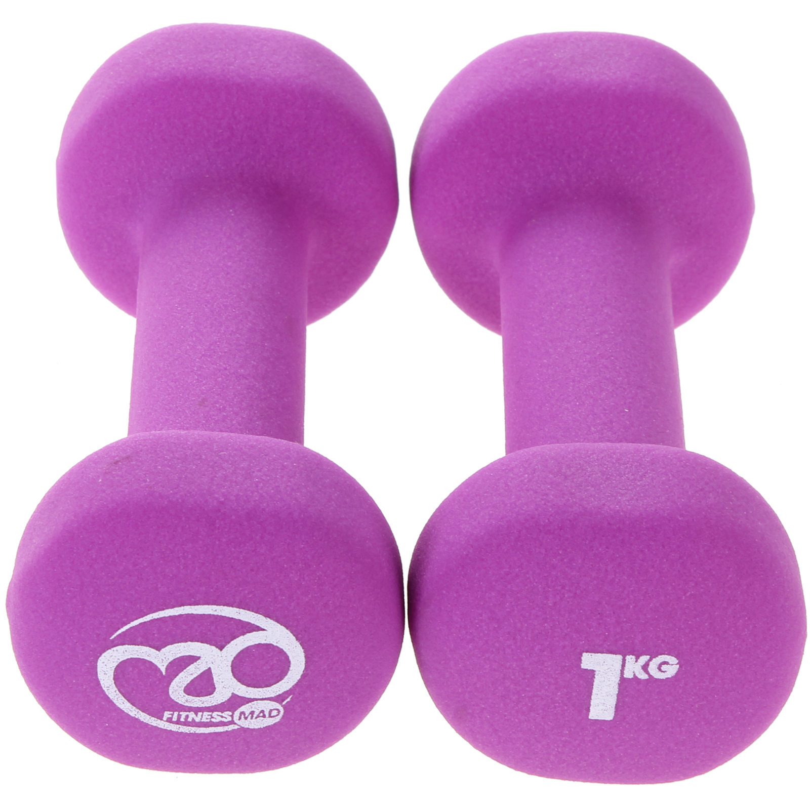Fitness-Mad-Neoprene-Dumbbells-Aerobic-Weight-Fitness-Training-Pair