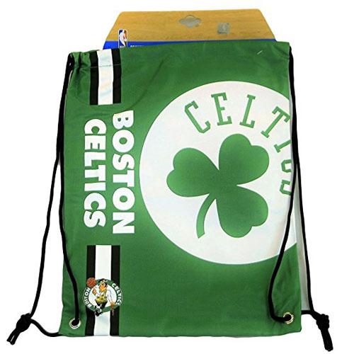 NBA Basketball Boston Celtics Cropped Logo Drawstring Backpack ... 609aed71f6c7