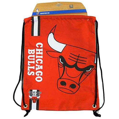 BASKET NBA Chicago Bulls ritagliata Logo Coulisse Zaino 49x34x1.5cm ... 50ee48f4e0cf
